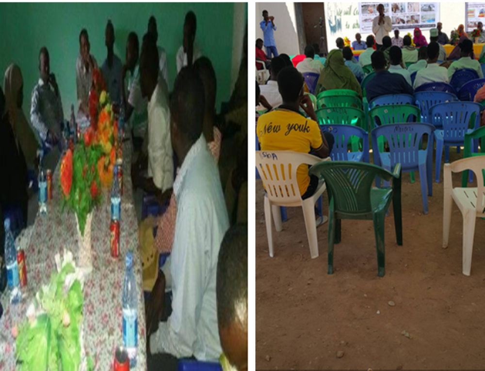 South Somali Youth Organization (SSYO) conducted three days training of Human rights of youths and  implemented activities through the almost provide Awareness for Young youth who were miss leaded by Al shabab group in Somalia and below 18 yrs Old and other without jobs.